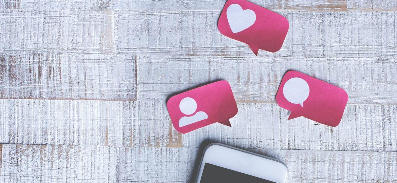 Sichtbarkeit Soziale Medien